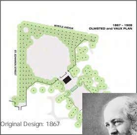 Factors 1. Landmark Status & Architectural Significance Original Design: 1867 FREDRICK LAW OLMSTED 1908 Monument