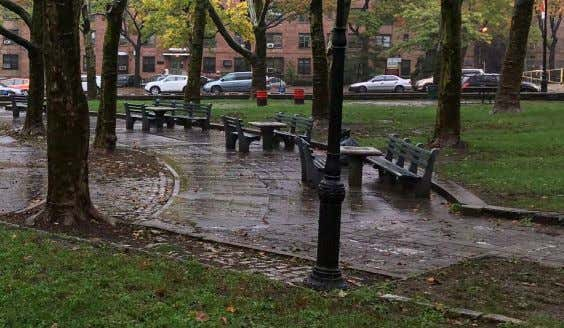 - CIRCULAR PLAZA AREA AT CORNER FORT GREENE PARK | PWB - Lower Plaza - Site