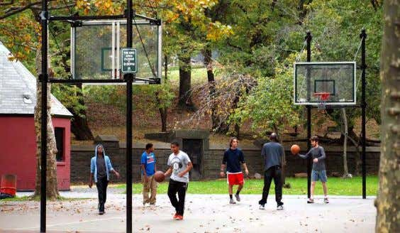 1 - BASKETBALL COURT FORT GREENE PARK | PWB - Lower Plaza - Site Photos