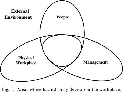 External Environment People Physical Workplace Management Fig. 1. Areas where hazards may develop in the