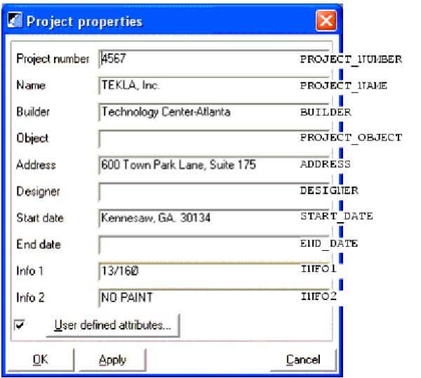 Tekla For Dummies rdheng@gmail.com ---MODELING--- Toolbar The toolbars contain icons which give easy access to some