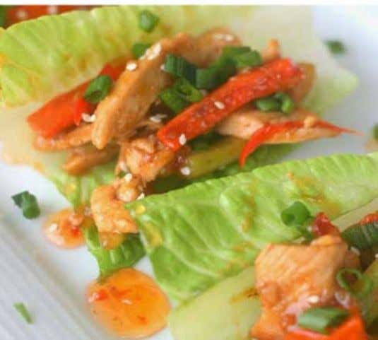 18 info@gobizz.ca Recipe 778 278 4088 Chicken Stir Fry Lettuce Wraps Ingredients 3 carrots, peeled and