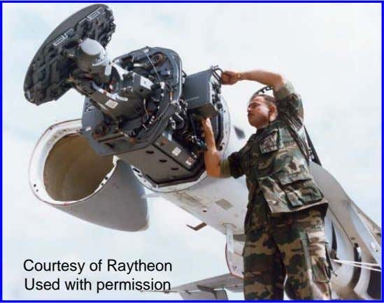 Courtesy of Raytheon Used with permission
