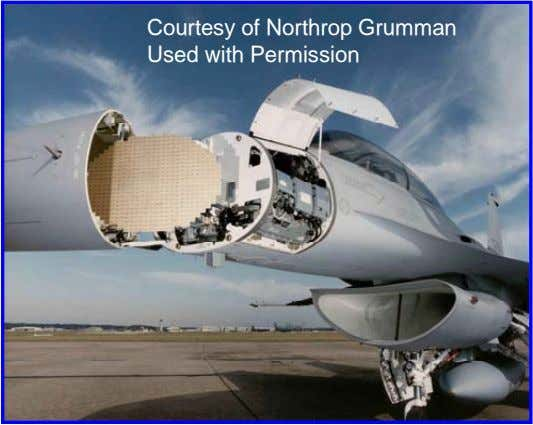 Courtesy of Northrop Grumman Used with Permission