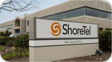 "listed on NASDAQ (""SHOR"") No debt, positive cash flow © 2009 ShoreTel, Inc. All rights reserved"