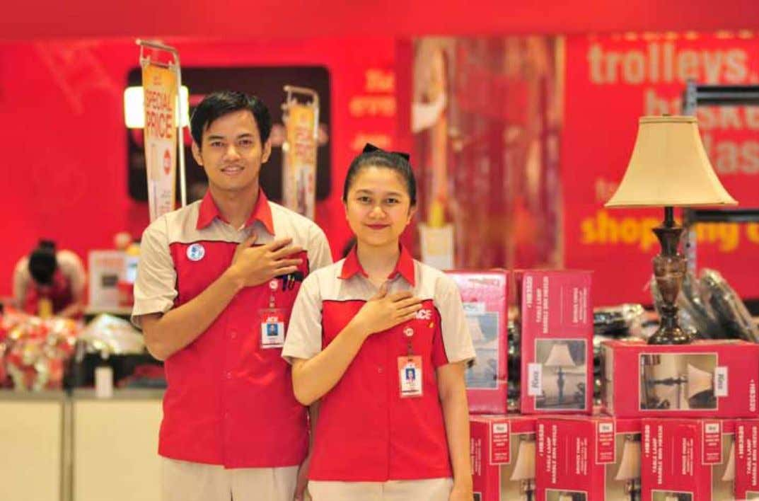 Report. 2015 3 6 BUDAYA PERUSAHAAN Company Culture Sales Advisors Ace Hardware Indonesia Personel: ELITE Moto