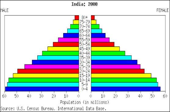 Is Indian population expanding now? What makes you think so? What is going to happen with