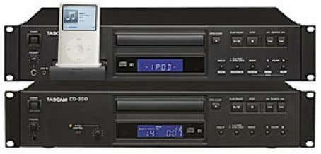 CD-200/CD-200i/CD-200iB CD Player / CD Player with iPod dock The CD-200 offers a simple, cost-effective solution