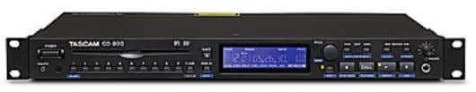 Tascam CD-500/CD-500B CD-500/CD-500B Ultra-compact CD Player The CD-500 is an extremely compact CD player available as