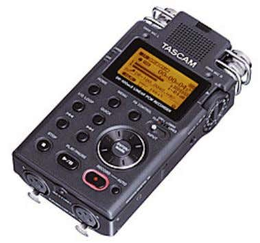 Europe GmbH DR-100MKII Portable linear PCM Stereo Recorder The DR-100MKII, designed for professional recording