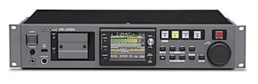 Tascam HS-2000 HS-2000 Stereo Audio Recorder The HS-2000 is Tascam's studio solution for professional stereo recording