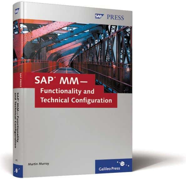 Martin Murray SAP MM— Functionality and Technical Configuration