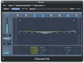 we've already heard the signal through both the sub-mix 01 EQ isn't a natural tool for