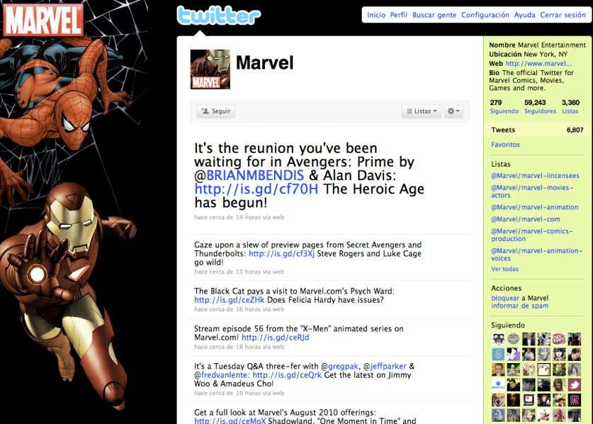 "Marvel Comics Chris Brogan Experto en marketing en redes sociales y autor del Best Seller ""Trust"