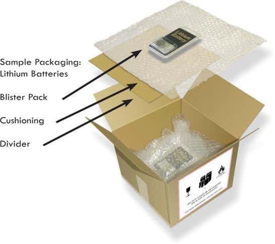 be contained in equipment. Sample packaging meeting these requirements is shown below: IDFS/Cargo Page 16 04/10/2012