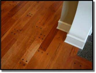 Reclaimed Wood Floors Reclaimed wood floors give the space a natural feel, which contrasts with the