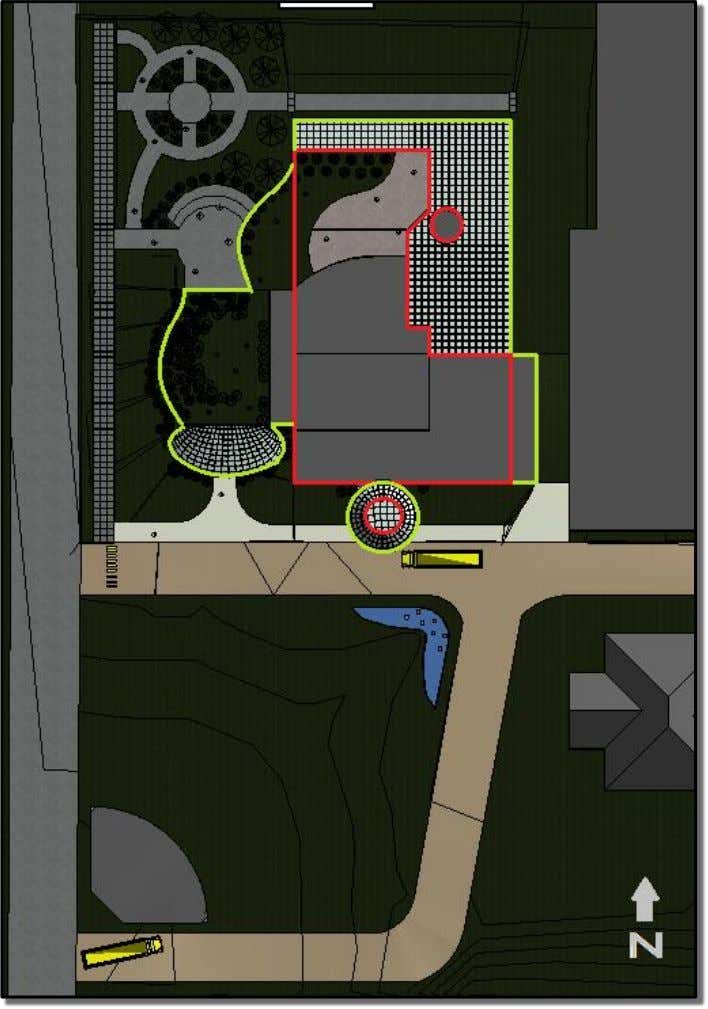 Proposed Building Design Proposed Site Plan *Red outline indicates the existing facility that we kept in