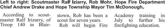 According to scout- stown, Rob has been a scout for seven years. Rob will begin
