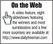 On the Web A video feature, eight slideshows featuring the winners and most sumbissions and
