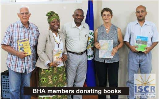 BHA members donating books