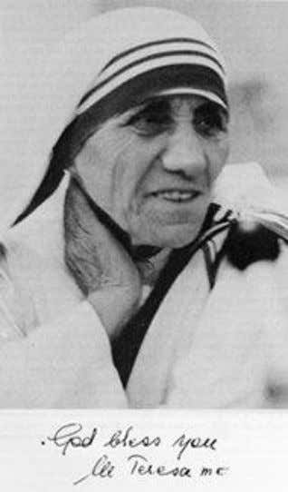 Mother Teresa 1979 – Nobel Prize in Peace
