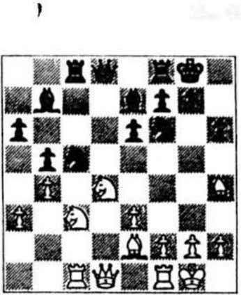 3 Can the middle-game be taught? I 7 Aljechin (black) Capablanca (white) In fact Black's main