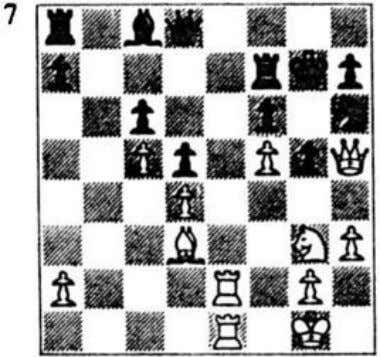 cap­ Qc5+ mating as above or winning the rook (after 3 Qc5+ Praszak (black) Enden (white)
