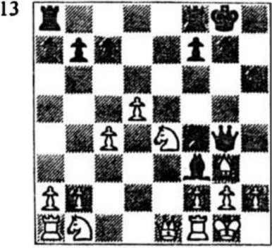 a minor piece mate arose in our next position. After I Termer (black) Field (white) Qh3