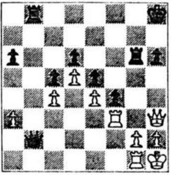 the choice between 2 Kxc2 1 Qxc2+!! giving White 19 Eising (black) Polugayevsky (white) At Solingen