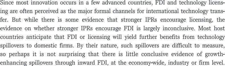 International trade Licensing and FDI xii