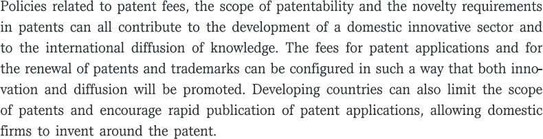 Foreign patenting Intellectual property rights related policies xiii
