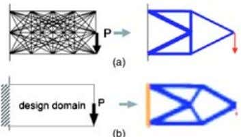 40 , fluid-structure 216 / Vol. 5, SEPTEMBER 2005 Fig. 2 Two approaches for structural topology