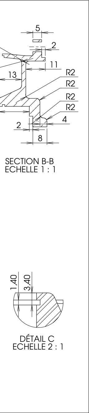 5 2 11 R2 13 R2 R2 R2 4 2 8 SECTION B-B ECHELLE 1