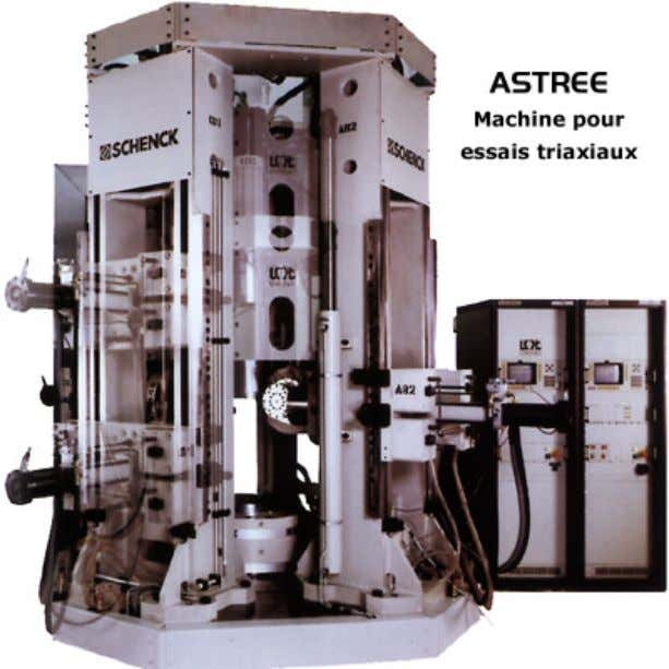 1 0 0 0 σ 2 0 0 0 σ 3   machine triaxiale, LMT-Cachan