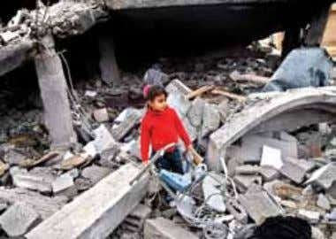 What relief makes for Gaza What relief makes for Gaza H ad the relief ships been