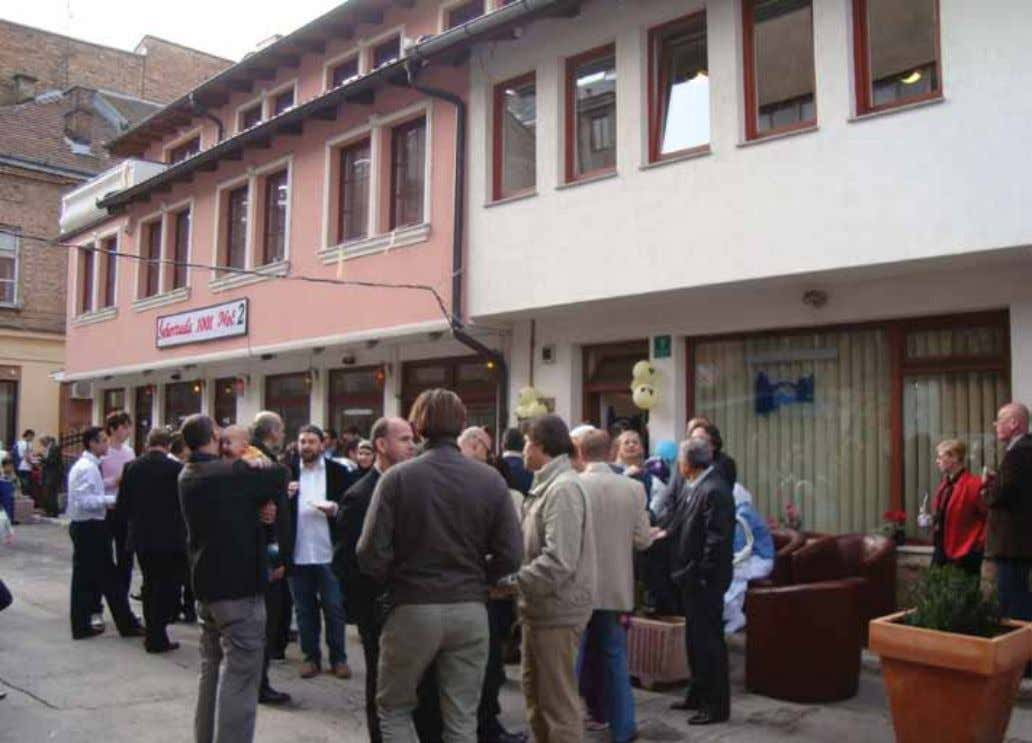 Culture and Training Center opened in Bosnia-Herzegovina O n March 29, 2010 IHH, which makes contributions