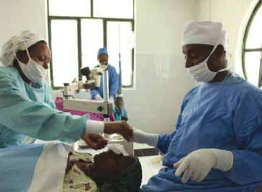 ACTIVITIES 35 40.151 cataract patients have seen the light T he Africa Cataract Project, which was