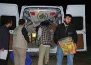 Domestic aid ARAŞTIRMA ACTIVITIES 39 Aid for Chechen immigrants IHH provides regular aid to Chechen families
