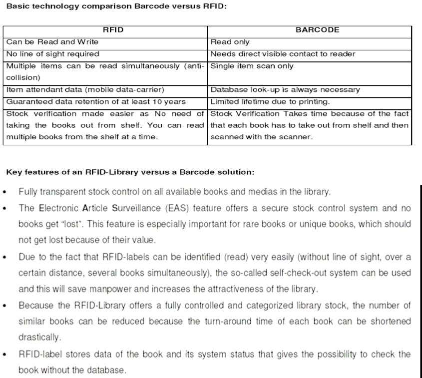 not open/remove books to capture information • Items are identified on upper and lower shelves more