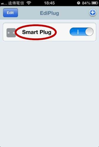 "smart plug and tap ""Back"" to go back to the main screen. Your smart plug will"