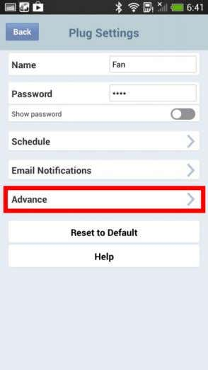 "3. Select "" Advance "" in order to set an daylight saving. S lide "" Daylight"
