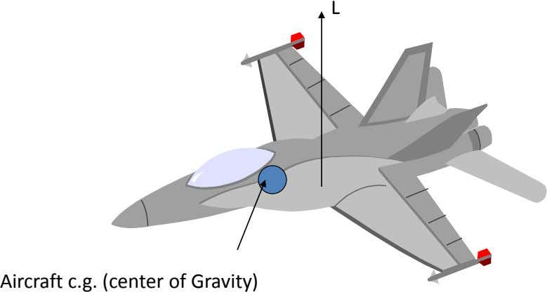 L Aircraft c.g. (center of Gravity)
