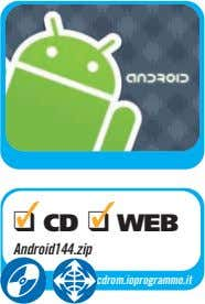 ❑ CD ❑ WEB Android144.zip cdrom.ioprogrammo.it