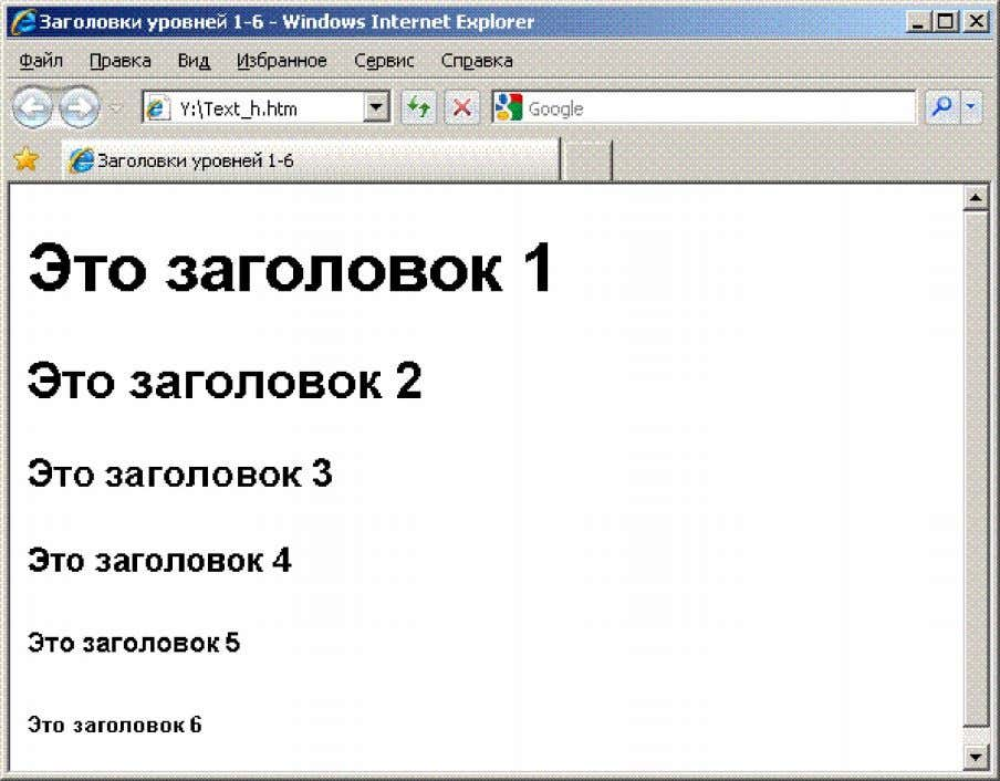 Software http://www.foxitsoftware.com For evaluation only. Рис. 2.1. Заголовки уровней 1-6