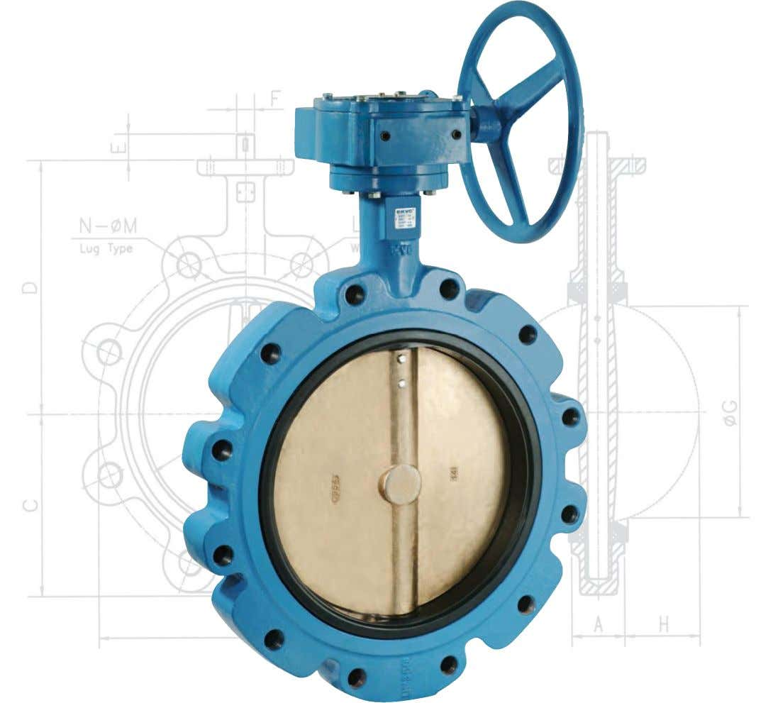 KVC (UK) Ltd. wafer type lug type double flanged type resilient seated butterfly valves