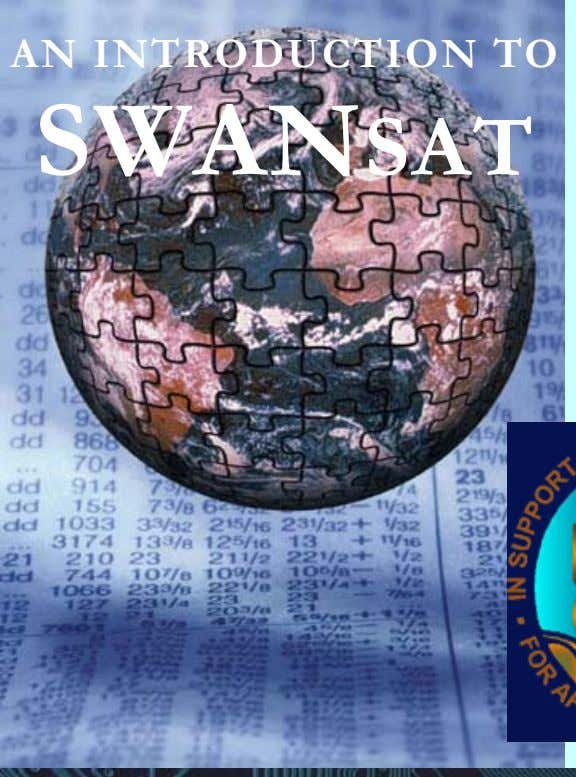 AN INTRODUCTION TO SWANSAT