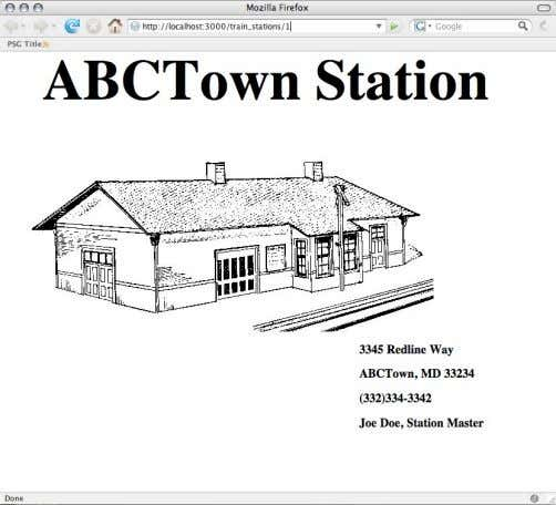 } end end If the client wants HTML, respond with HTML. Station Drawing from http://www.rrhistorical.com 2