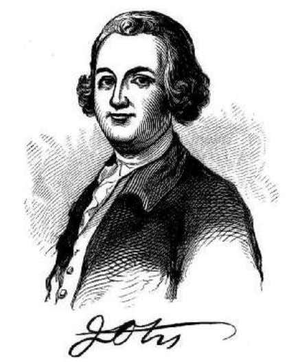 Vol. 3, Number 14, July 1851, by Harper and Brothers. JAMES OTIS. Poor Otis! The bludgeon