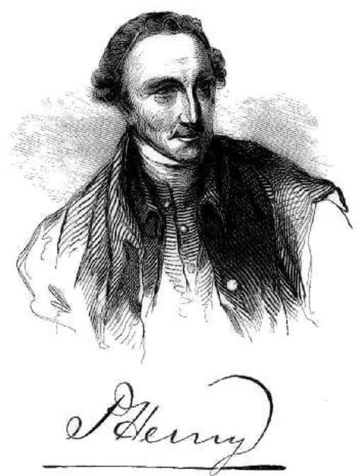 Vol. 3, Number 14, July 1851, by Harper and Brothers. PATRICK HENRY. Heedless of the portentous