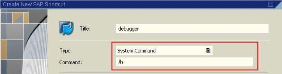 message and debugging is enabled! (Alt + F12) and select SAP COMMUNITY NETWORK SDN - sdn.sap.com
